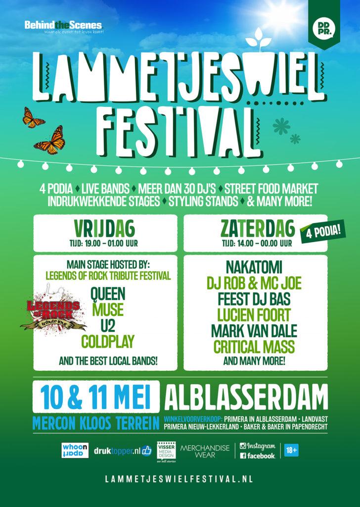Het Lammetjeswiel Festival 2019 in Alblasserdam